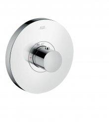 ShowerSelect Highflow Round - termostatická podomítková baterie, vysoký průtok, vrchní sada