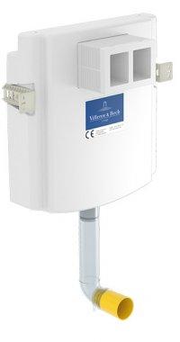 Viconnect - podomítková splachovací nádržka, hloubka 125 mm