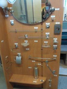 VÝPRODEJ koupelnových doplňků Goz Metal - chrom, chrom mat