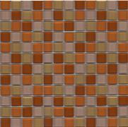 VÝPRODEJ Dolturno - mozaika skleněná 30x30 (2,3x2,3) hnědá