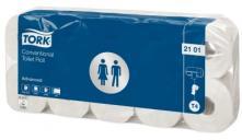 T4 advanced toaletní papír konvenční role - 2 vrstvy, bílý, 1x10 rolí