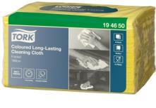 W8 Long-Lasting víceúčelová utěrka skládaná Small Pack 38,5x30 cm - netkaná textilie, žlutá