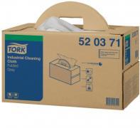 W7 průmyslová víceúčelová utěrka skládaná Handy Box 42,8x38,5 cm - netkaná textilie, šedá