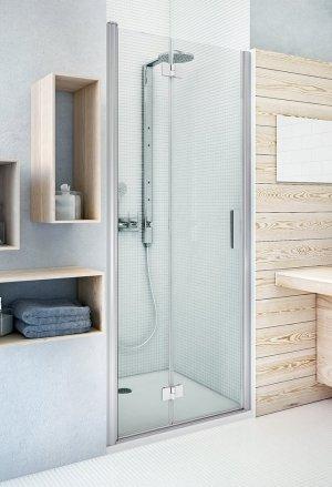 TZNP1 1200 - sprchové dveře skládací pravé