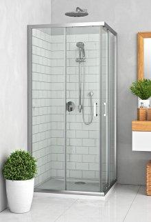 LLS 1000x800 - sprchový kout obdélníkový 100x80 s posuvnými dveřmi