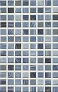 Eidos oceano - obkládačka mozaika na síti 20x31,6 modrá