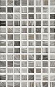 Eidos grafito - obkládačka mozaika na síti 20x31,6 šedá