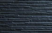 Jersey antracita - obkládačka rektifikovaná 31,6x90 černá