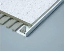 Zakončovací lišta nerezová - L profil, 12,5 mm