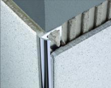 Zakončovací lišta nerezová - P profil, 12,5 mm