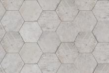 Esagona Greenwich Village - dlaždice šestihran 24x27,7 šedá