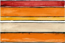 Shades Stripes Sun Mix - obkládačka inzerto set 20x60
