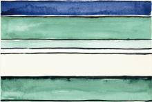 Shades Stripes Sea Mix - obkládačka inzerto set 20x60