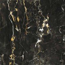 Mirage Jewels Black Gold JW11 Lucidato - dlaždice rektifikovaná 160x320 černá