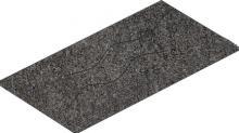 Crossover anthracite - dlaždice schodovka rektifikovaná 29,7x59,7 tmavě šedá reliéfní