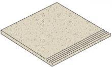 Granifloor white - dlaždice schodovka 29,6x29,6 bílá