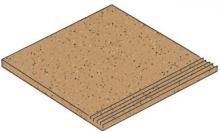 Granifloor cotto - dlaždice schodovka 29,6x29,6 oranžová