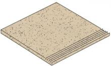 Granifloor beige - dlaždice schodovka 29,6x29,6 béžová