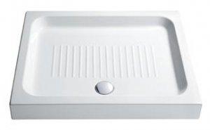 Base - sprchová vanička obdélníková 90x72 keramická