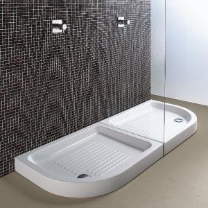 Base - sprchové vaničky čtvrtkruhové