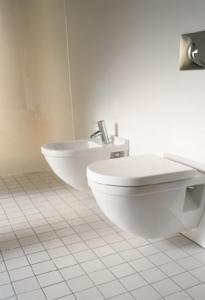 Starck 3 - WC, bidety, pisoáry