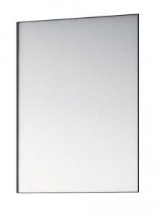 Tektit - zrcadlo 55x85 cm, rám černý matný