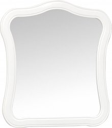 Lapis - zrcadlo v rustikálním rámu 100x90 cm