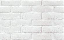 PS213 white structure mat - obkládačka 25x40 bílá
