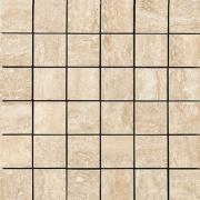 Mosaico 5x5 Crema Marfil Lappato - dlaždice mozaika 29,5x29,5 krémová