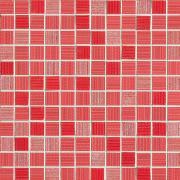 Mosaico 2,5x2,5 Corallo - obkládačka mozaika 30x30 červená