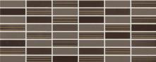 Mosaico Lustro Incico Smoke - obkládačka 20x50 hnědá