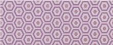 Decoro Geometrico Lilla - obkládačka inzerto 20x50 fialová