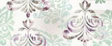 Decoro Wallpaper Water White - obkládačka inzerto 25x60 bílá