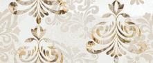 Decoro Wallpaper Water White/Nut Brown - obkládačka inzerto 25x60 hnědá