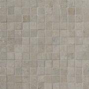 Mosaico 2,5x2,5 Beton Lappato - dlaždice mozaika 29,7x29,7 šedá lappovaná