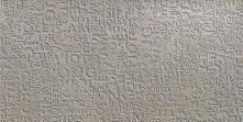 Decoro Murales Metallo Beton Lappato Rettificato - dlaždice dekor 34,5x69,5 šedá lappovaná