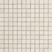 Tribeca Mosaico 2,5x2,5 Titanio Lappato - dlaždice mozaika 30x30 bílá