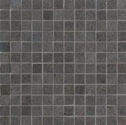 Tribeca Mosaico 2,5x2,5 Asfalto Lappato - dlaždice mozaika 30x30 šedá