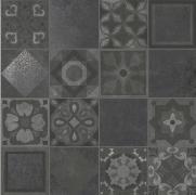 Tribeca Patchwork Asfalto Naturale - dlaždice dekor 60x60 šedá