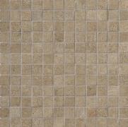 Tribeca Mosaico 2,5x2,5 Muffin Lappato - dlaždice mozaika 30x30 hnědá