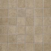 Tribeca Mosaico 5x5 Muffin Lappato - dlaždice mozaika 30x30 hnědá