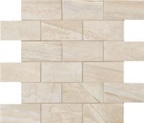 Muretto 5x10 Crystal - dlaždice mozaika 30x30 krémová matná