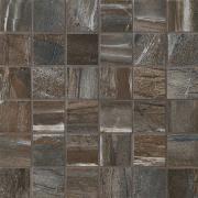 Mosaico 5x5 Night - dlaždice mozaika 30x30 černá matná