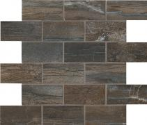 Muretto 5x10 Night - dlaždice mozaika 30x30 černá matná