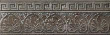 Listello Classico Night - dlaždice bordura 10x30 černá matná