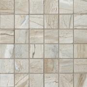 Mosaico 5x5 Ash - dlaždice mozaika 30x30 šedá matná