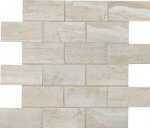 Muretto 5x10 Ash - dlaždice mozaika 30x30 šedá matná