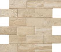 Muretto 5x10 Sand - dlaždice mozaika 30x30 béžová matná