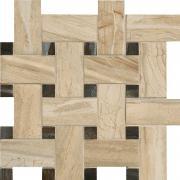 Mosaico Intreccio Sand - dlaždice mozaika 30x30 béžová matná