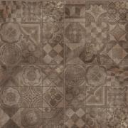 Patchwork Mud Mix 3 pz - dlaždice 60x60 hnědá